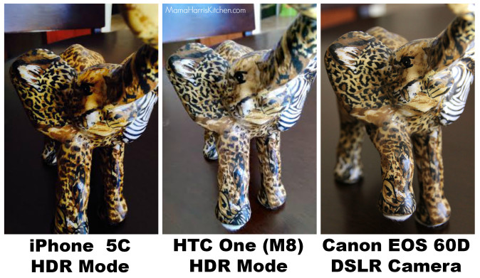HTC One m8 elephant comparison
