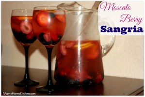 Say Cheers with a Moscato Berry Sangria!