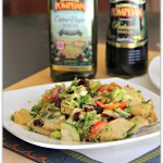 Sweet Shaved Brussel Sprouts Salad with Orange & Honey Vinaigrette