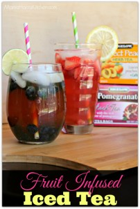 Fruit Infused Iced Tea