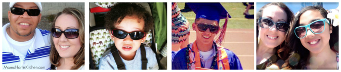 We sure are a family that loves our sunglasses!