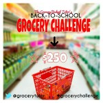 Learn about the Grocery Challenge from Grocery Budget Tutor – Plus you can WIN $250!