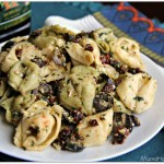 Tortellini Pesto Pasta Salad with Sun Dried Tomatoes