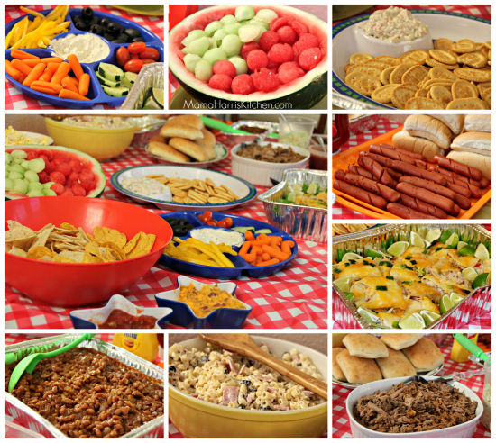 potluck party food