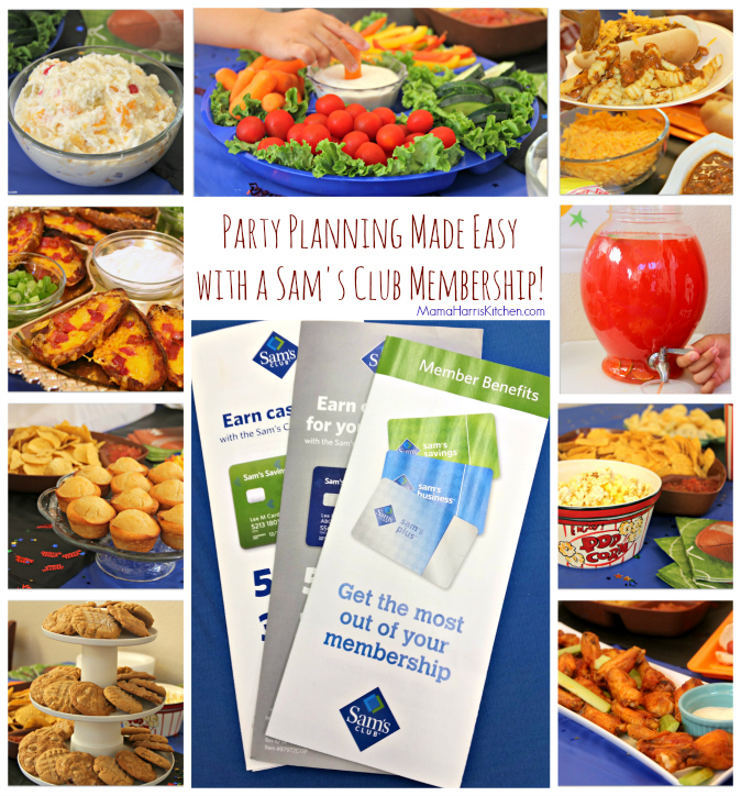 Party Planning Sam's Club Membership #TrySamsClub