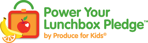 power your lunchbox pledge produce for kids