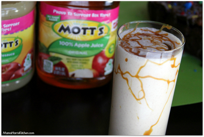 Fun Fall Recipes: Caramel Apple Milkshakes - Mama Harris' Kitchen
