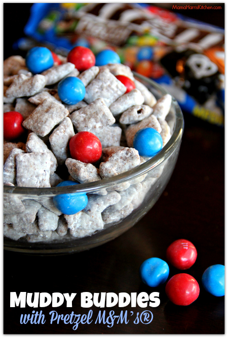 Pretzel M&M Muddy Buddies