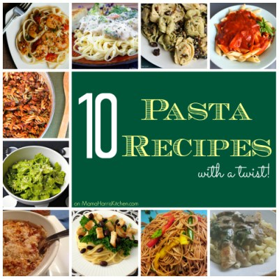 10 Pasta Recipes with a Twist!