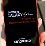 Review of the Sprint Samsung Galaxy S5 Sport #SprintMom