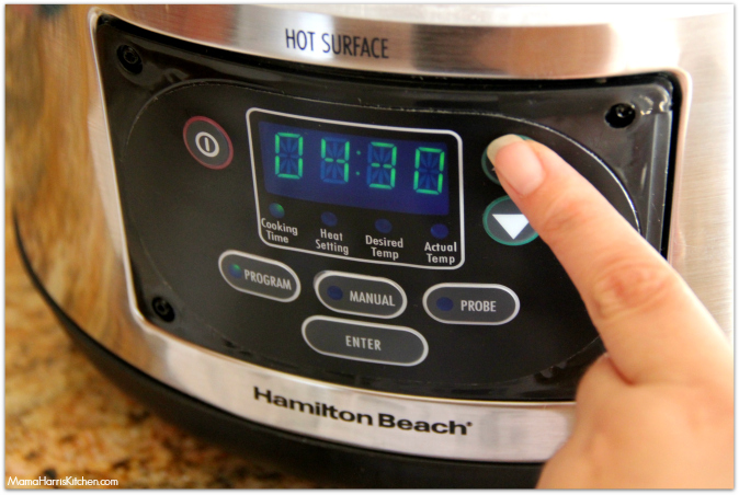 Hamilton Beach Set and Forget 6 quart slow cooker giveaway #SlowcookerMeals