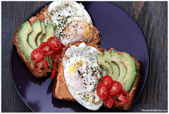Skinnygirl Hummus Breakfast Toast #NowThisIsSkinnyDipping #Sponsored - Mama Harris' Kitchen