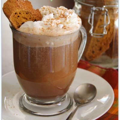 Pumpkin Snickerdoodle Biscotti and a Café Cocoa Recipe