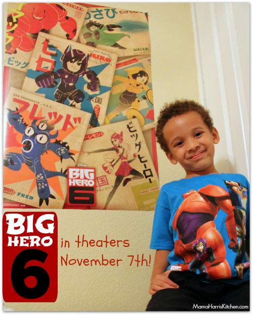 Big Hero 6 opens November 7th. Get your merchandise at Walmart! #BigHero6 #shop #cbias - Mama Harris' Kitchen