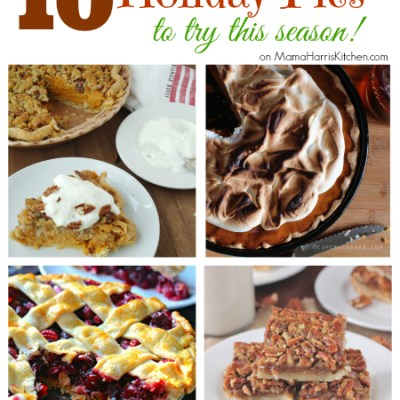 10 Holiday Pies to try this Season
