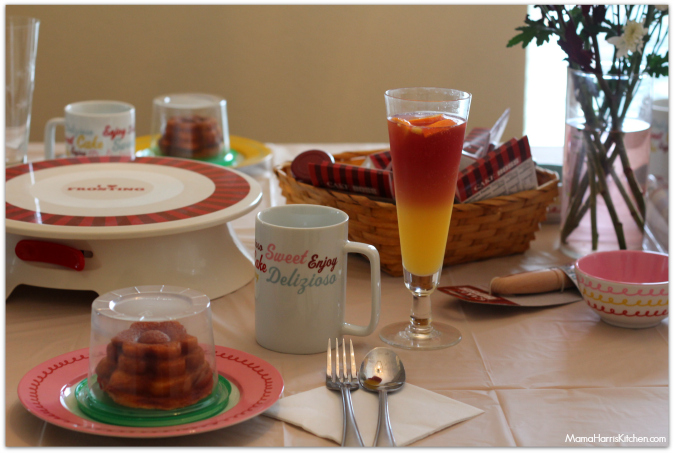 A Cake Decorating Girl's Brunch! #CakeBossParty #CakinWithMama #IC #sponsored - Mama Harris' Kitchen
