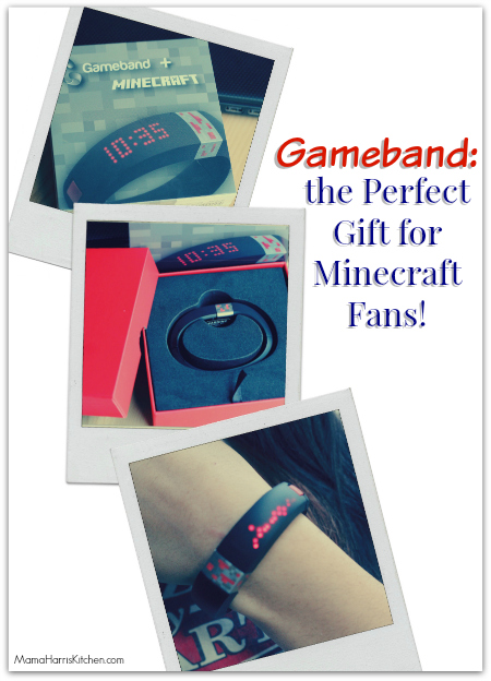 Gameband: The Perfect Gift for Minecraft Fans! #GameOnTheGo #ad - Mama Harris' Kitchen