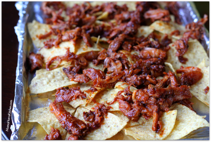 BBQ Chicken Nachos #PassThePepper #ad #cbias - Mama Harris' Kitchen
