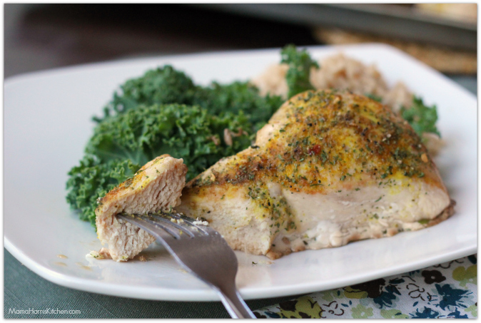 Simply Delicious Baked Boneless Chicken Breast