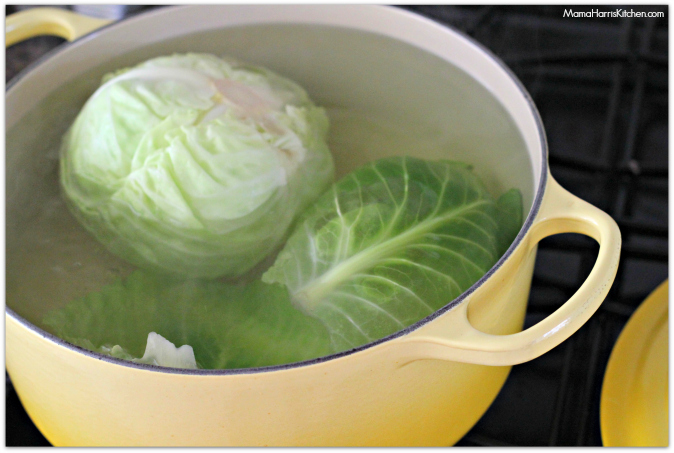 Cabbage Rolls with Brown Rice, perfect for Spring! #ChooseSmart with Smart & FInal #ad #cbias - Mama Harris' Kitchen