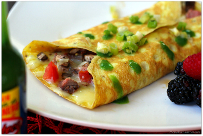 easy steak omelette 18