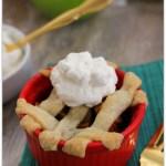 Mini Pear Apple Pie