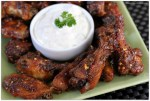 Ginger Honey Garlic Wings with French Onion Dip #ChicksWingIt #WingItWednesday | Mama Harris' Kitchen