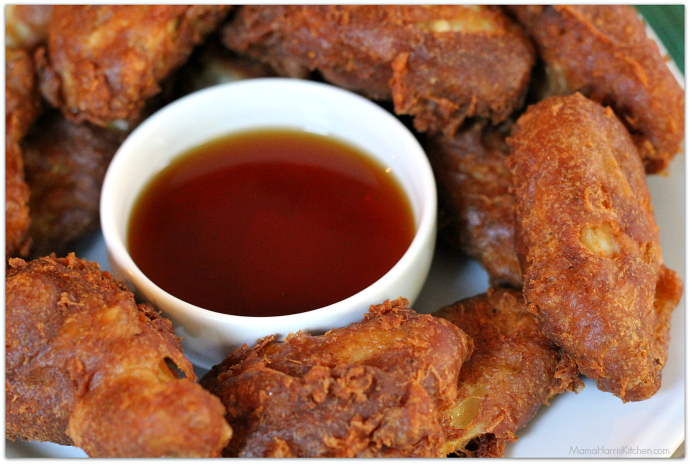 beer battered fried chicken wings #WingItWednesday #ChicksWingIt | Mama Harris' Kitchen