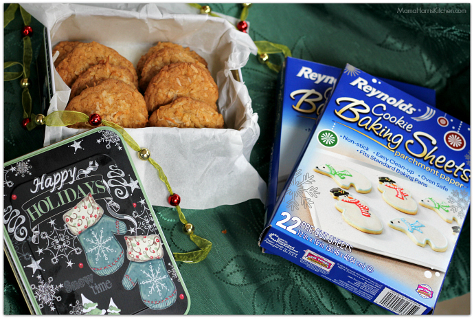 Coconut Cookies #BakeMagicMoments AD | Mama Harris' Kitchen