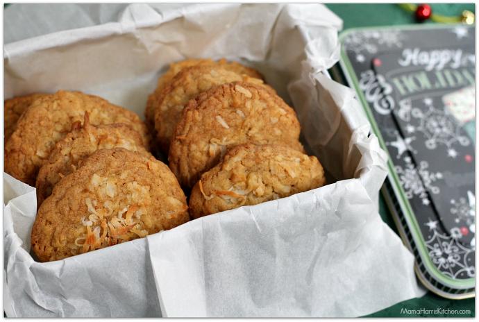 Coconut Cookies #BakeMagicMoments AD   Mama Harris' Kitchen