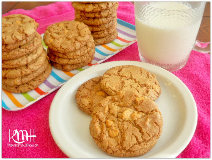 Butterscotch Cookies - 15+ Cookie Recipes from Mama Harris' Kitchen | Mama Harris' Kitchen
