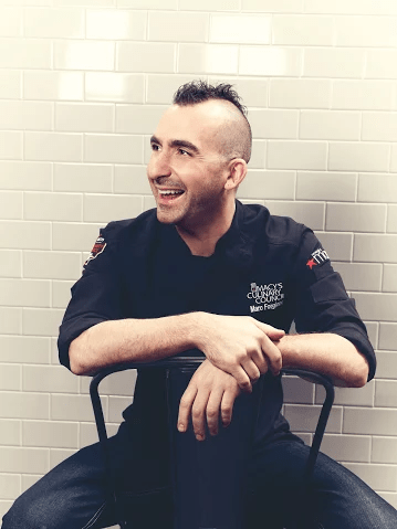 Join Culinary Council Chef Marc Forgione at Macy's Union Square for #MacysEndZone action! AD