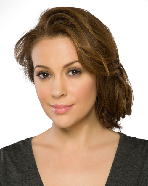 Alyssa Milano in San Francisco at LIDS