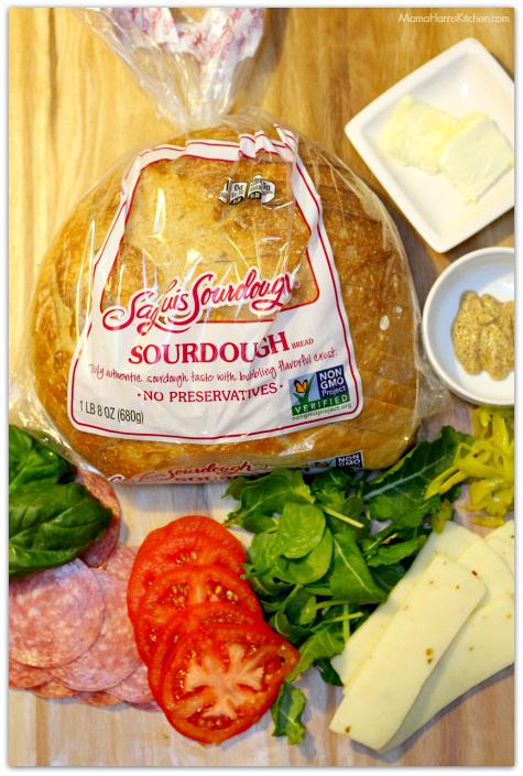 Deli-Style Savory Sourdough Melt with San Luis Sourdough Bread AD | Mama Harris' Kitchen