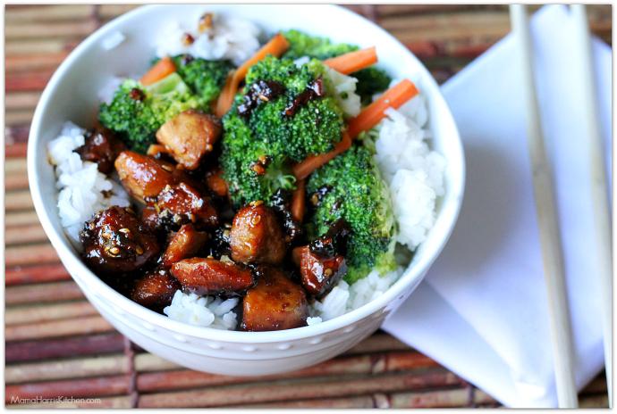 Weeknight Dinner Idea: Quick & Easy Chicken Teriyaki Bowl | Mama Harris' Kitchen