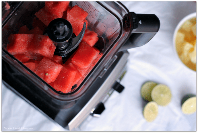 Watermelon Pineapple Margaritas | Mama Harris' Kitchen