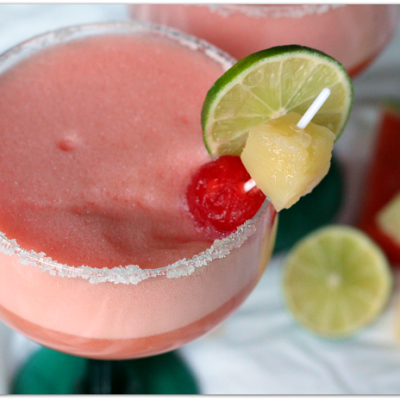 Watermelon Pineapple Margaritas