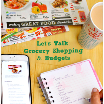 Let's Talk: Grocery Shopping and Budgets