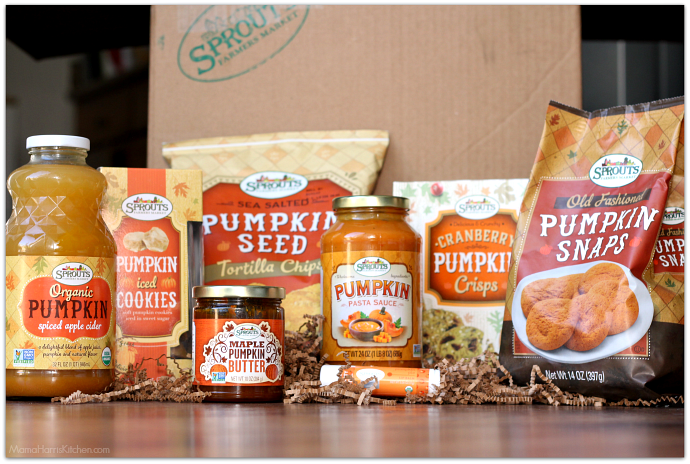 Sprouts Brand Pumpkin Products GIVEAWAY! #TalkPumpkinToMe AD | Mama Harris' Kitchen