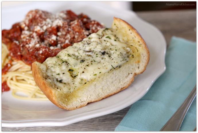 Cheesy Garlic Bread   Mama Harris' Kitchen