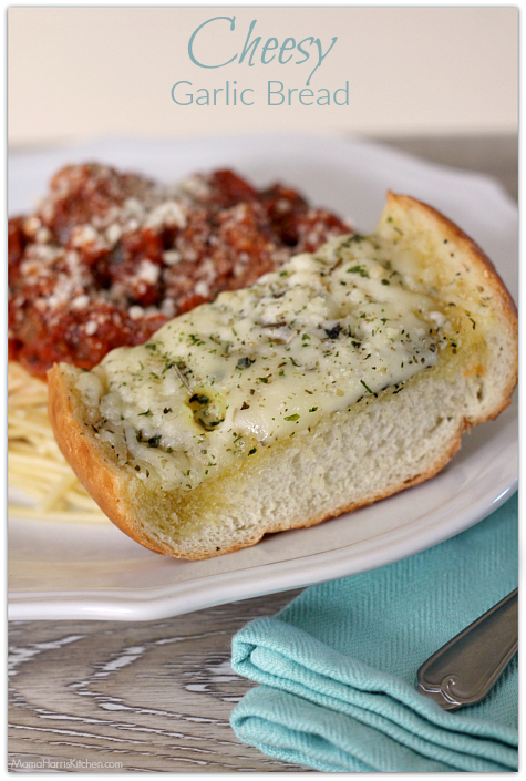Cheesy Garlic Bread | Mama Harris' Kitchen