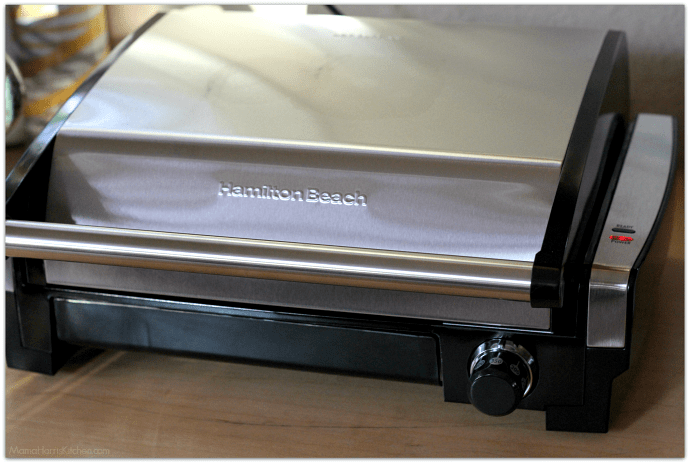Hamilton Beach Indoor Searing Grill Giveaway #GrillIt AD | Mama Harris' Kitchen