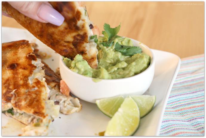 Tex-Mex Tuna Melt Quesadillas | Mama Harris' Kitchen