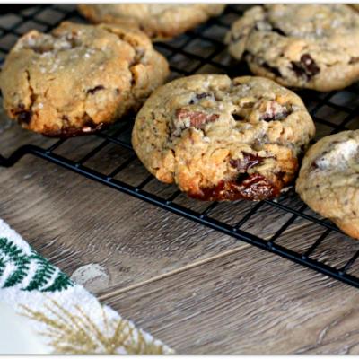 peanut butter marshmallow chocolate chunk cookies #HousefulofCookies