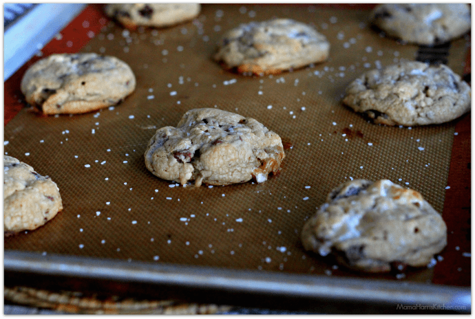 peanut butter marshmallow chocolate chunk cookies #HousefulofCookies