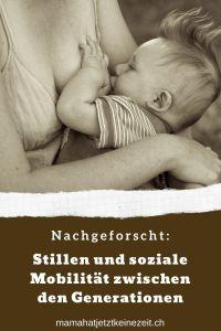"""Pin """"Nachgeforscht: Stillen und soziale Mobilität zwischen den Generationen"""""""