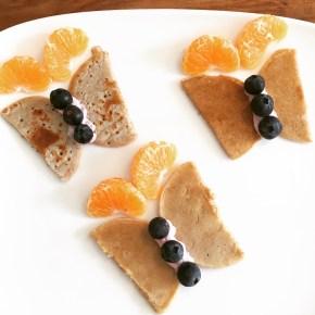 Funny Food, Foodart,Schmetterlinge, Butterfly, Essen für Kinder, for Kids, Obstteller, Pancakes