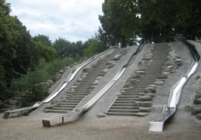 Rutschen-Spielplatz im Westpark