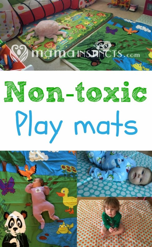 I learned that some baby products were made with questionable materials and some of these products leached harmful chemicals that could possibly affect the health of my kid. I sought out to find was a non-toxic playmat because my daughter was on a mat a big chunk of the day.