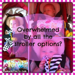Overwhelmed by all the stroller options?